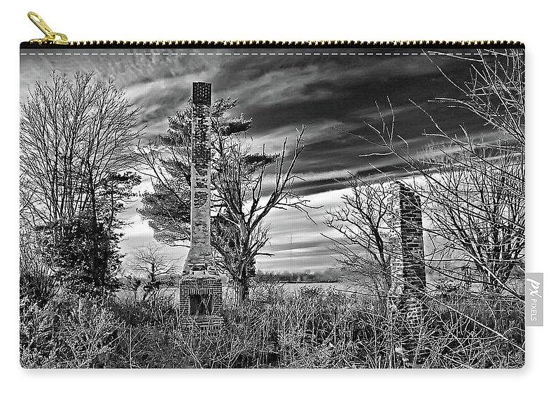 2d Carry-all Pouch featuring the photograph Dark Days by Brian Wallace