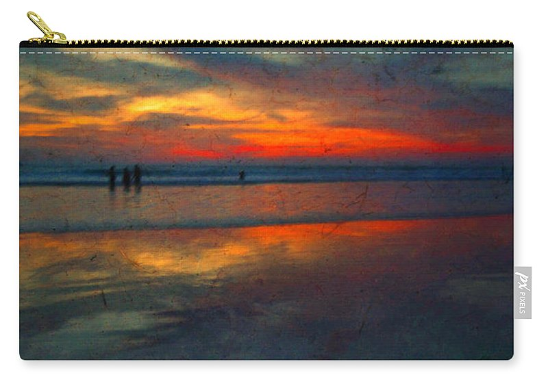 Texture Carry-all Pouch featuring the photograph Dark Memories by Tara Turner