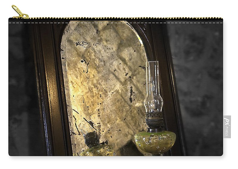 Mirror Carry-all Pouch featuring the photograph Dark Side by Svetlana Sewell