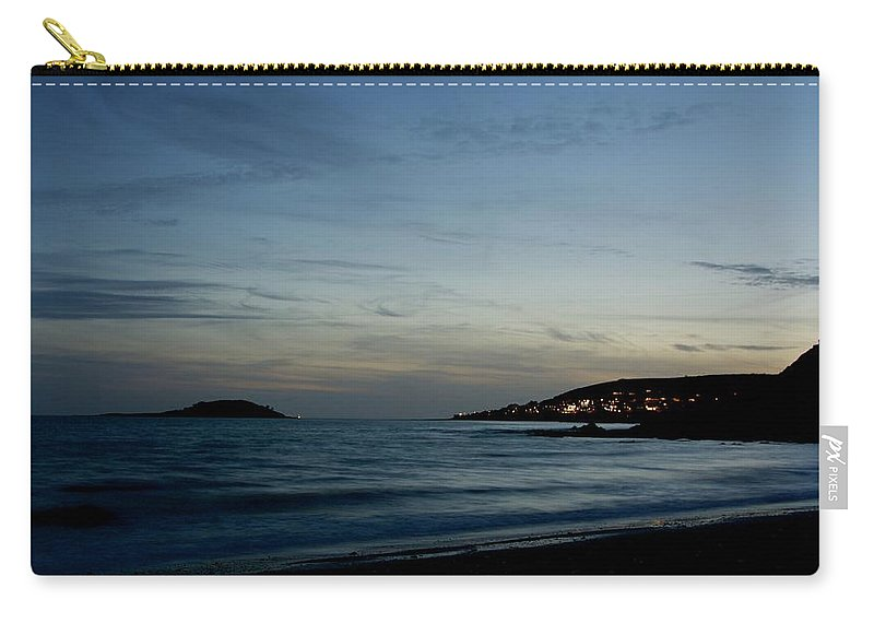 Land Carry-all Pouch featuring the photograph Dark Sky by Phil Child