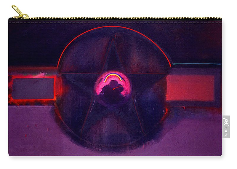 Usaaf Insignia Carry-all Pouch featuring the painting Dark Star by Charles Stuart
