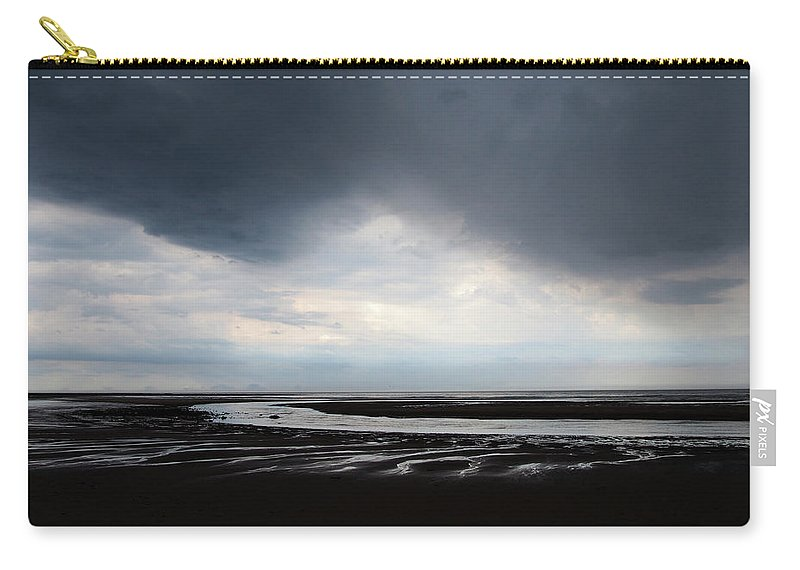 Cloud Carry-all Pouch featuring the photograph Darker Days by Philip Openshaw