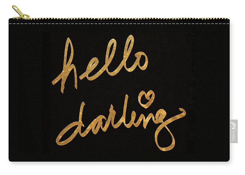 Darling Carry-all Pouch featuring the painting Darling Bella I by South Social Studio