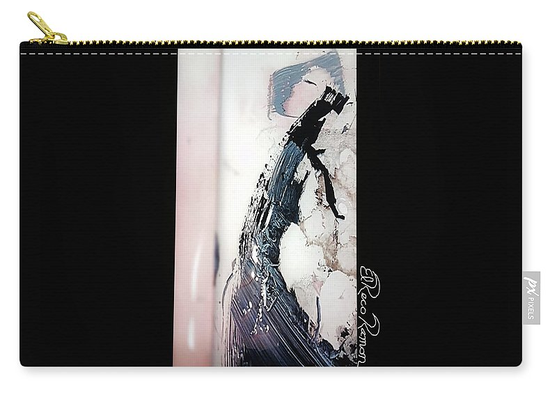 Prom Carry-all Pouch featuring the painting Date Elegante by ElReco Ramon