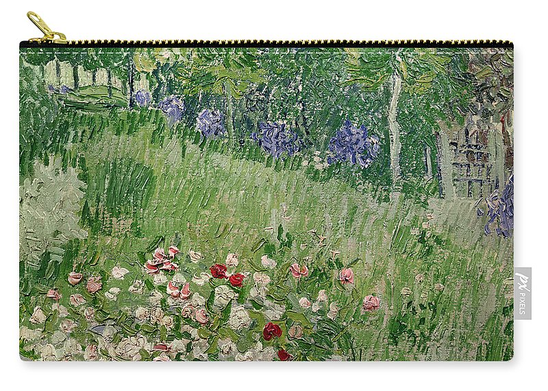 Daubigny Carry-all Pouch featuring the painting Daubigny's Garden by Vincent Van Gogh