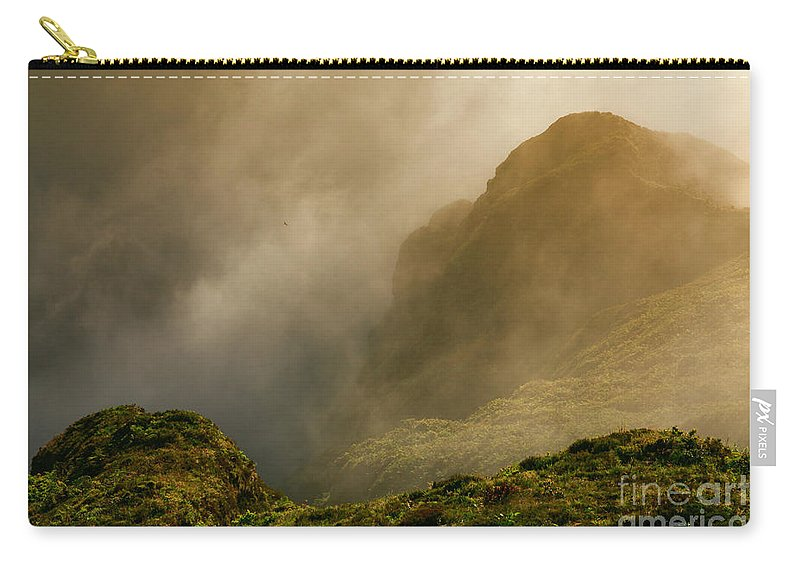 Azores Carry-all Pouch featuring the photograph Dawn At Fogo Crater by Gaspar Avila