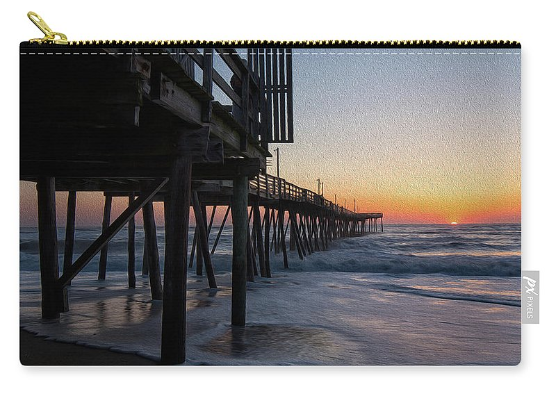 Obx Carry-all Pouch featuring the photograph Dawn Begins by Art Cole