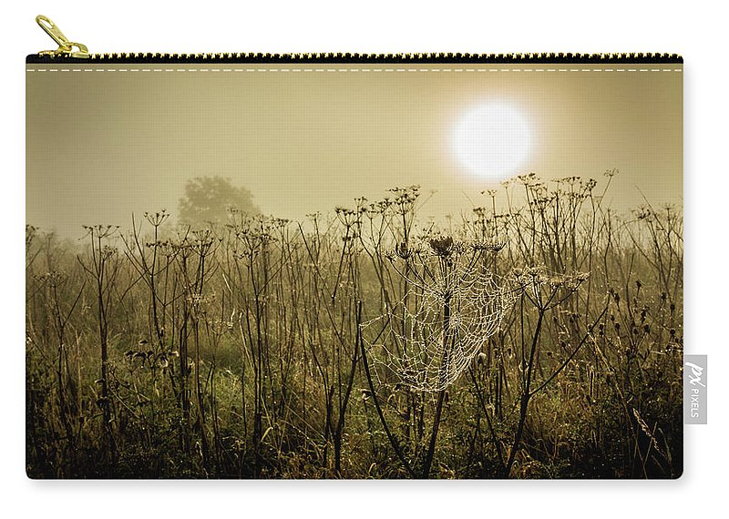 Mist Carry-all Pouch featuring the photograph Dawn Dew by David Mckenna