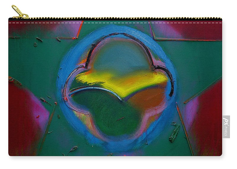Usaaf Insignia Carry-all Pouch featuring the painting Dawn Landscape by Charles Stuart