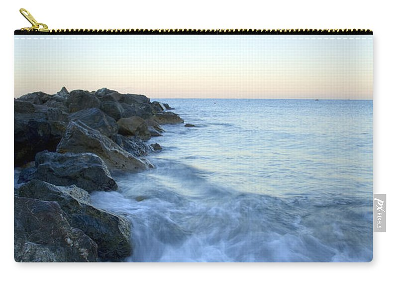 Italy Carry-all Pouch featuring the photograph Dawn Light In Italy by Ian Middleton