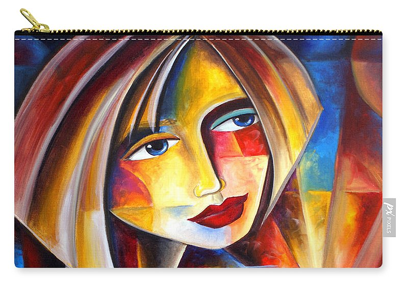 Carry-all Pouch featuring the painting Dawn Of A New Day by Jennifer Main