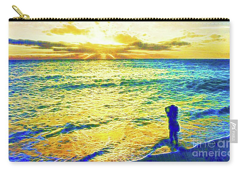 Dawn Carry-all Pouch featuring the photograph Dawn Of A New Day by Jerome Stumphauzer