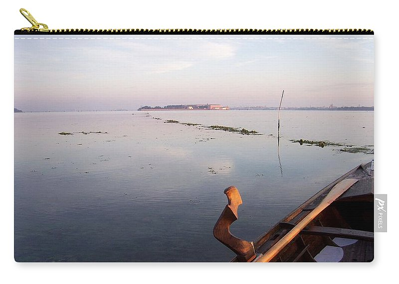 Venice Carry-all Pouch featuring the photograph Dawn On Lagoon by Erla Zwingle
