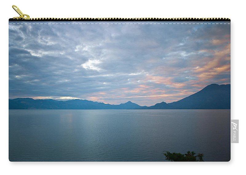 Central Carry-all Pouch featuring the photograph Dawn Over The Volcano 5 by Douglas Barnett