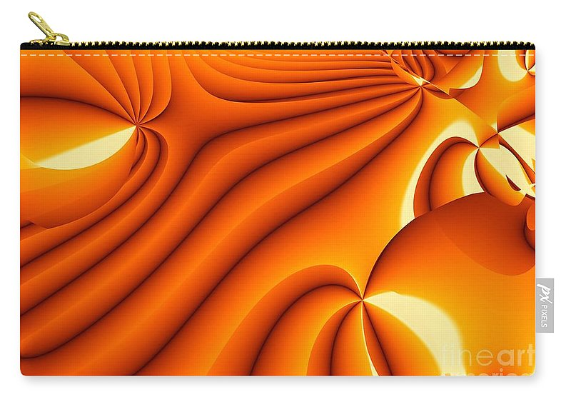 Fractal Image Carry-all Pouch featuring the digital art Dawning by Ron Bissett