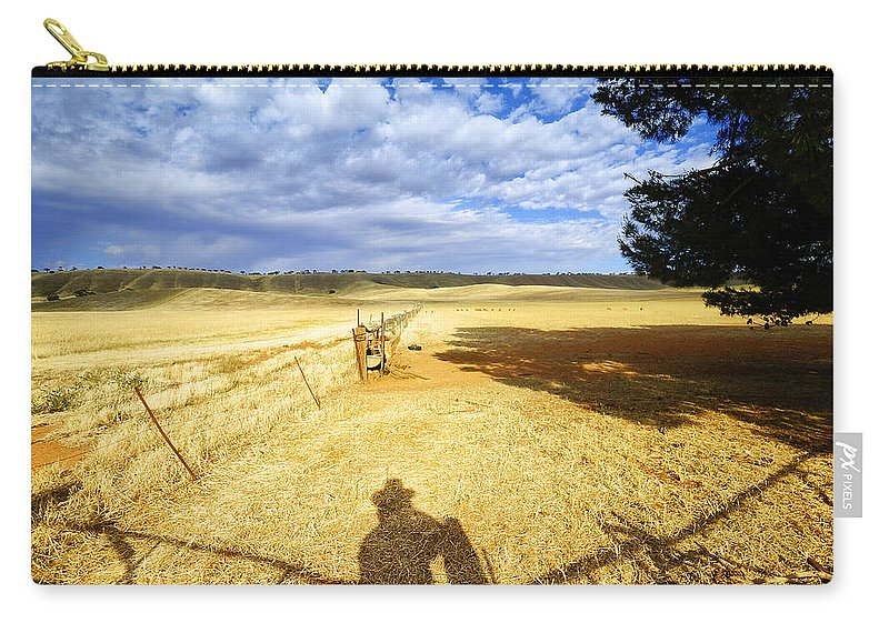 Landscape Carry-all Pouch featuring the photograph Day Dreaming by Wayne Sherriff