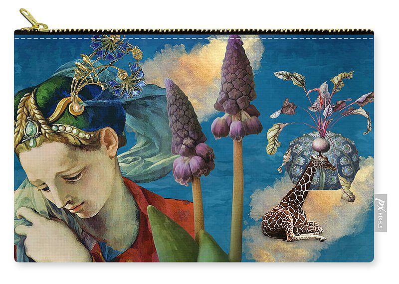 Dreamscape Carry-all Pouch featuring the digital art Day Dreams by Laura Botsford