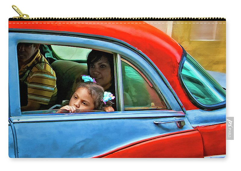 Cuba Carry-all Pouch featuring the photograph Daydreaming by Claude LeTien
