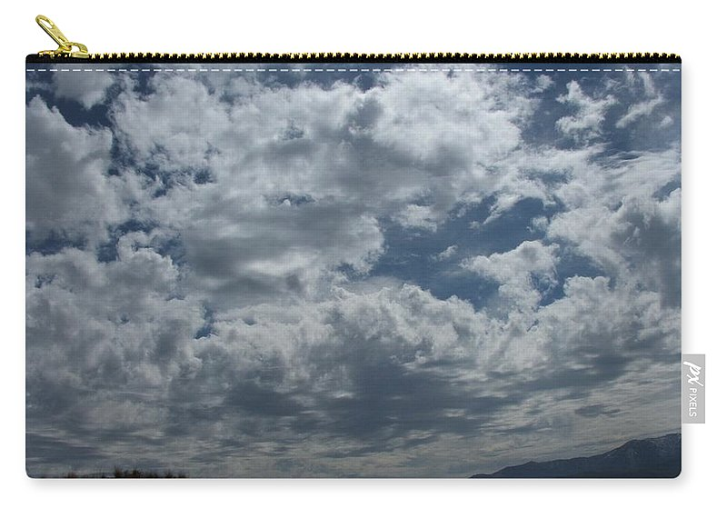 Clouds Carry-all Pouch featuring the photograph Daydreaming by Shari Chavira