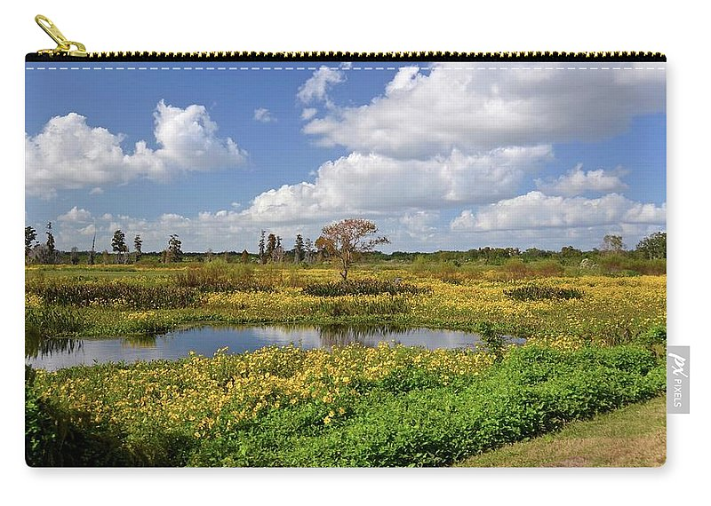 Marsh Carry-all Pouch featuring the photograph Days Of Glory by Carol Bradley