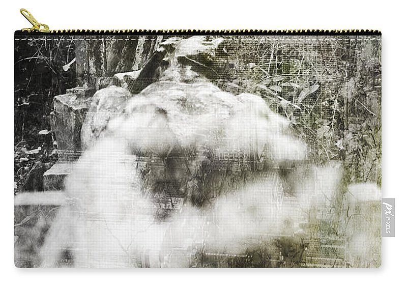 Dead Carry-all Pouch featuring the photograph Dead by Alex Art and Photo