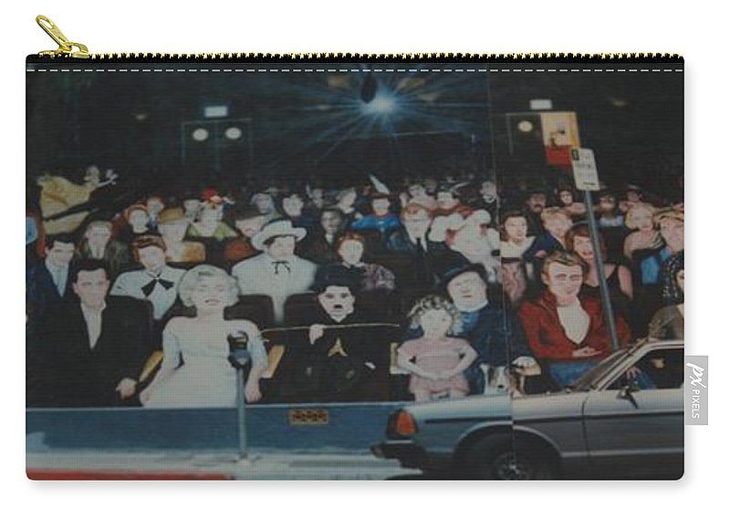 Movie Stars Carry-all Pouch featuring the photograph Dead Stars by Rob Hans