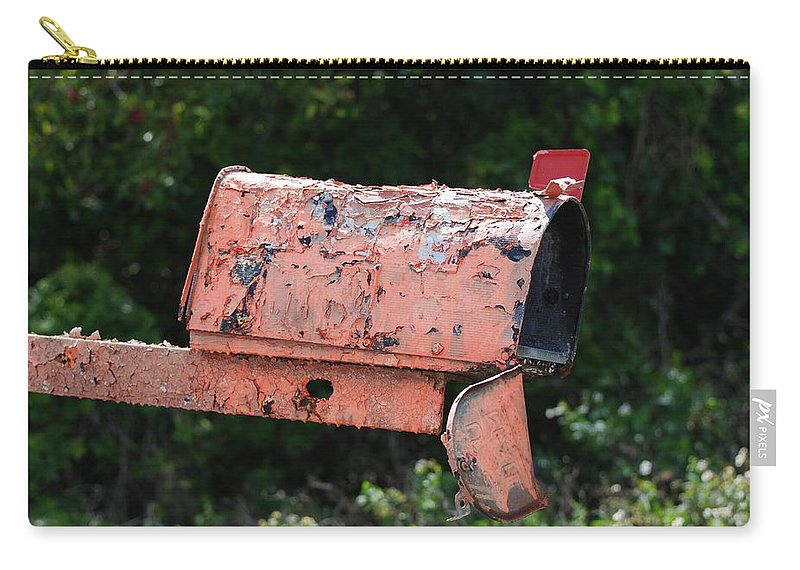 Country Scene Carry-all Pouch featuring the photograph Death By E Mail by Rob Hans