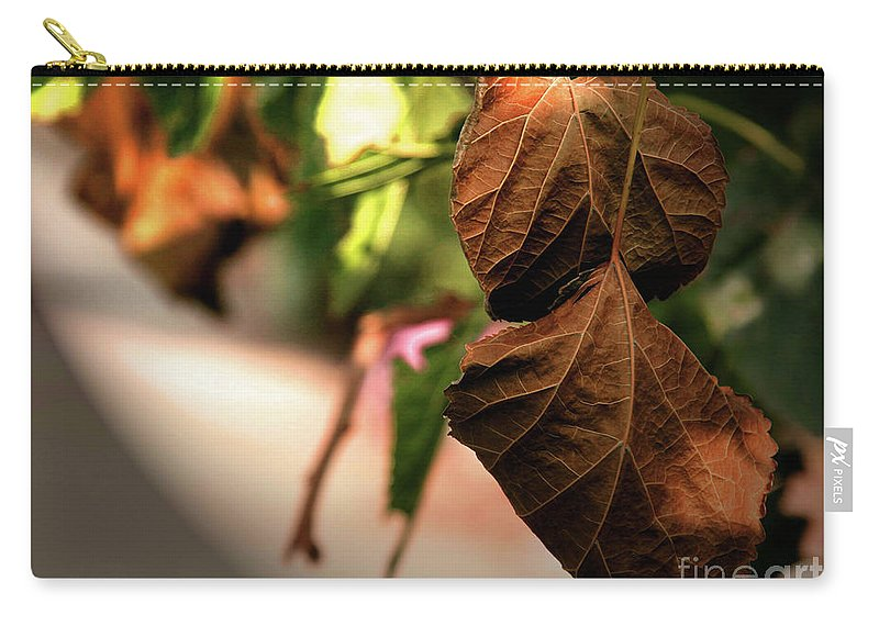 Life Carry-all Pouch featuring the photograph Death Is Beautiful by Idan Badishi