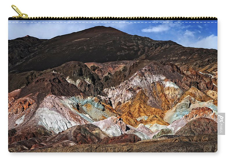 Adventure Carry-all Pouch featuring the photograph Death Valley 14 by Ingrid Smith-Johnsen