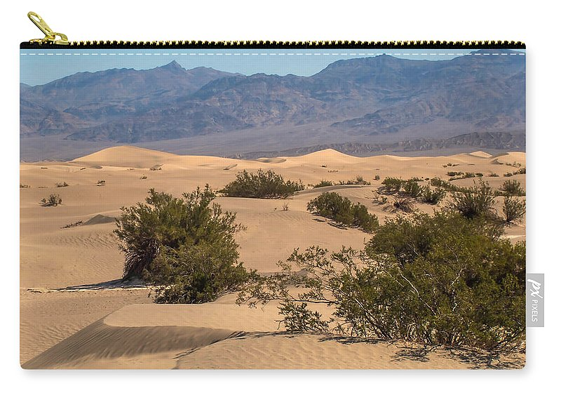 Adventure Carry-all Pouch featuring the photograph Death Valley 17 by Ingrid Smith-Johnsen