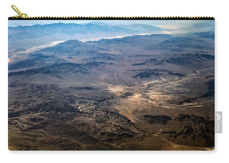 Adventure Carry-all Pouch featuring the photograph Death Valley 18 by Ingrid Smith-Johnsen