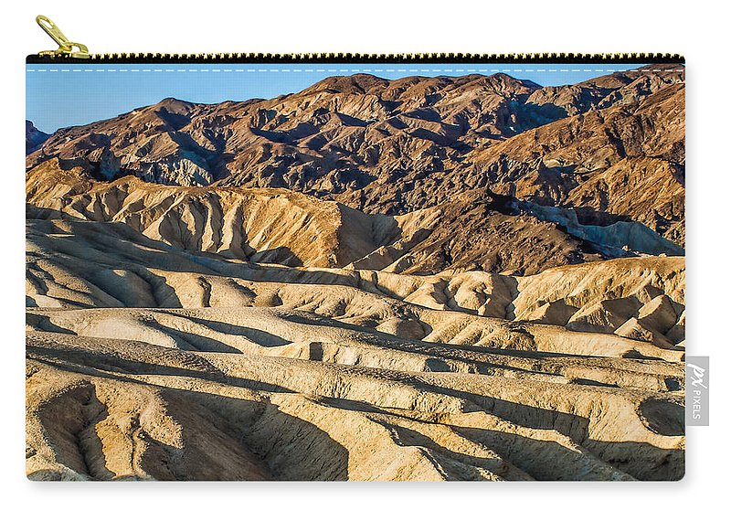 Adventure Carry-all Pouch featuring the photograph Death Valley 19 by Ingrid Smith-Johnsen