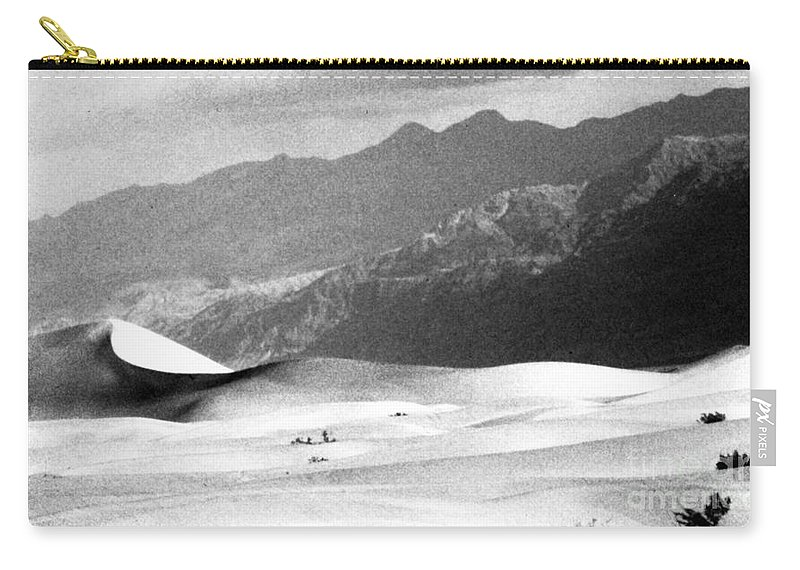 Western Scenes Carry-all Pouch featuring the photograph Death Valley 1977 by Norman Andrus