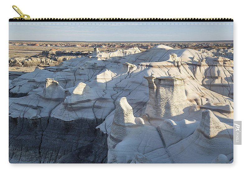 Adventure Carry-all Pouch featuring the photograph Death Valley 5 by Ingrid Smith-Johnsen