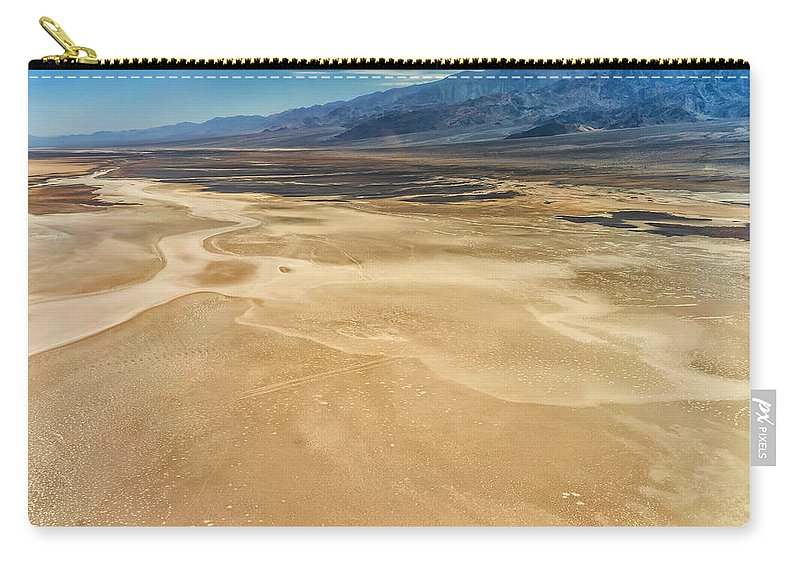 Adventure Carry-all Pouch featuring the photograph Death Valley 6 by Ingrid Smith-Johnsen