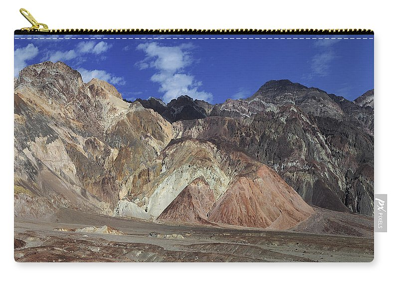 Adventure Carry-all Pouch featuring the photograph Death Valley 8 by Ingrid Smith-Johnsen