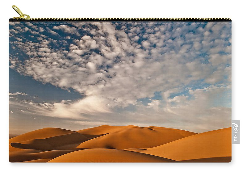 Adventure Carry-all Pouch featuring the photograph Death Valley 9 by Ingrid Smith-Johnsen