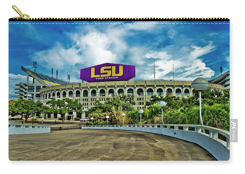 Lsu Carry-all Pouch featuring the photograph Death Valley by Scott Pellegrin