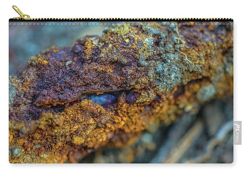 Decadent Decay Carry-all Pouch featuring the photograph Decadent Decay by Kenneth James