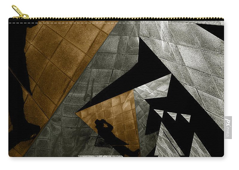 Abstract Carry-all Pouch featuring the photograph Deconstruction by Wayne Sherriff