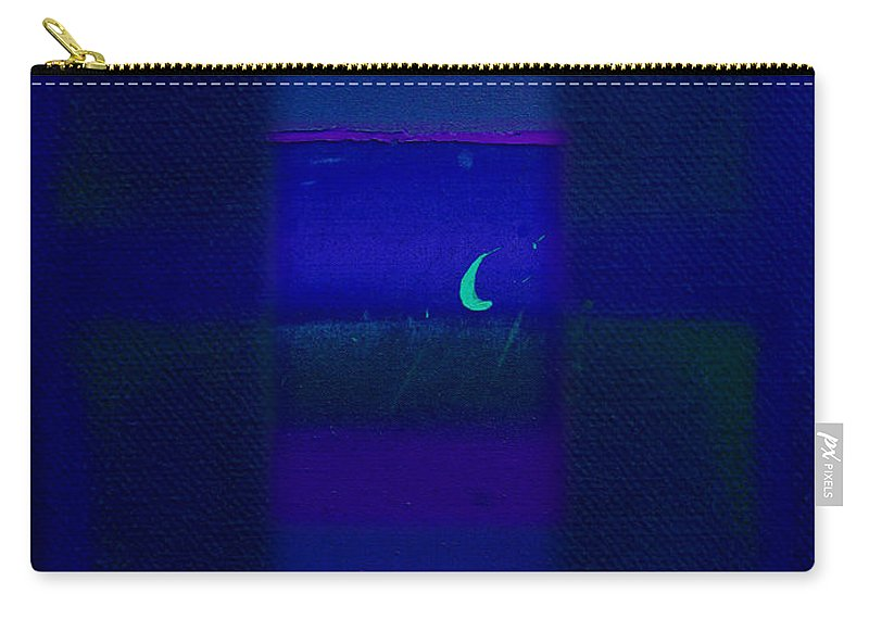 Rothko Carry-all Pouch featuring the painting Deep Blue Sea by Charles Stuart