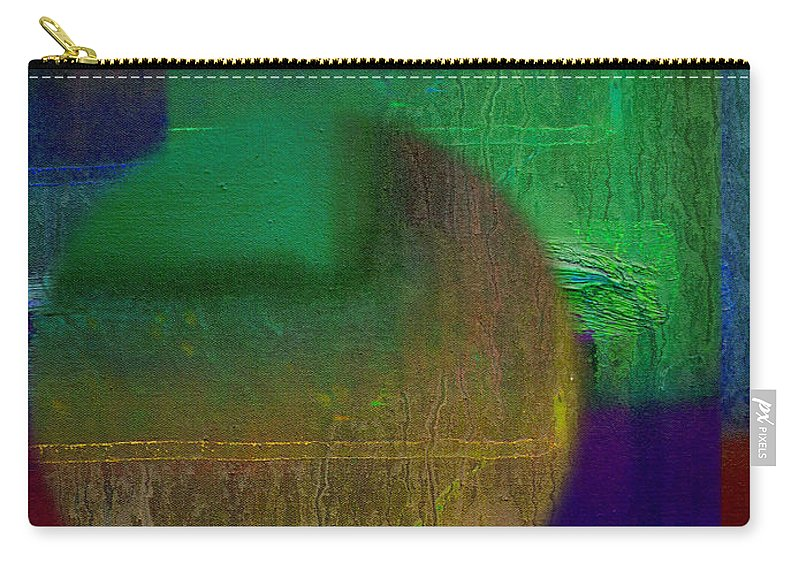 Landscape Carry-all Pouch featuring the painting Deep Geometry by Charles Stuart