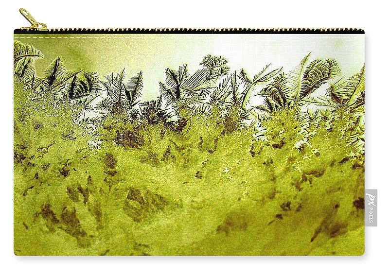 Frost Carry-all Pouch featuring the digital art Deep In The Amazon by Will Borden