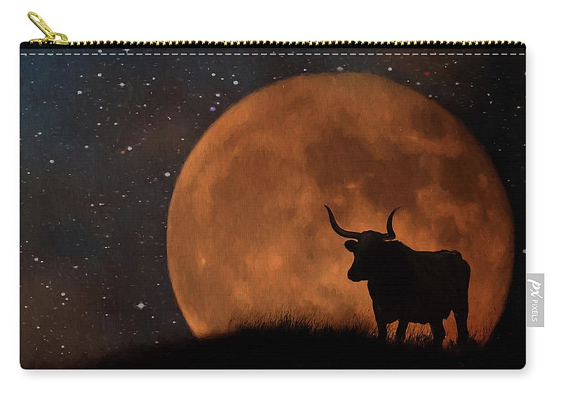 Texas Carry-all Pouch featuring the photograph Deep In The Heart Of Texas by Jan Galland