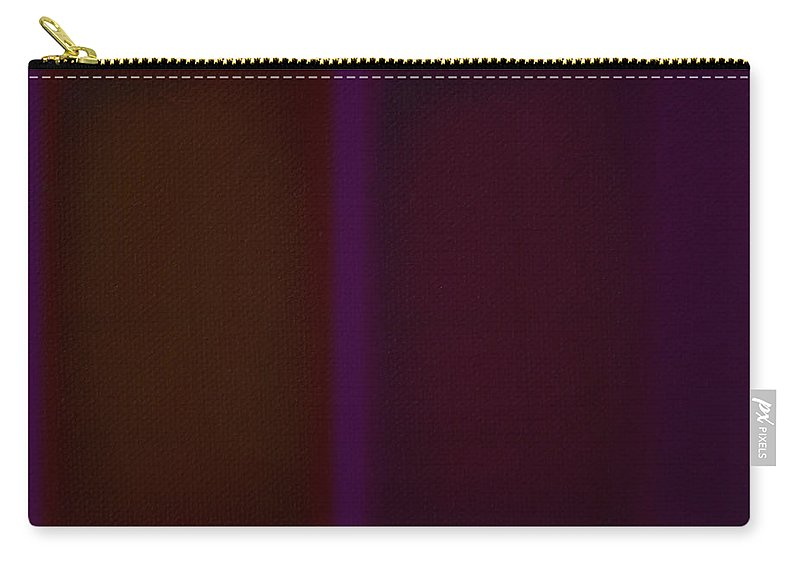 Rothko Carry-all Pouch featuring the painting Deep Purple II by Charles Stuart