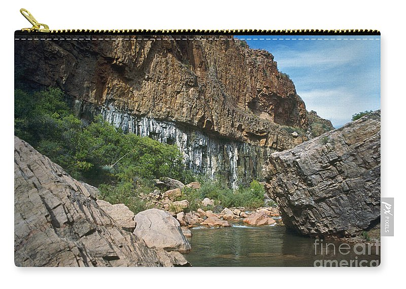 Landscape Carry-all Pouch featuring the photograph Deep Water by Kathy McClure