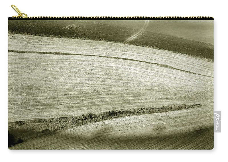 Landscape Carry-all Pouch featuring the photograph Deepening Shadows by Mal Bray