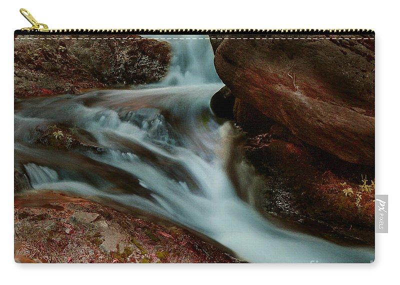Creek Carry-all Pouch featuring the photograph Deer Creek 04 by Peter Piatt