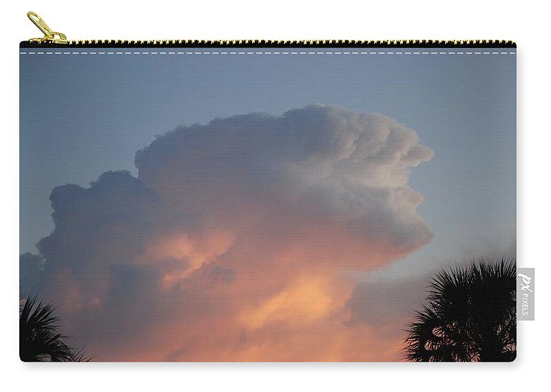 Sunset Carry-all Pouch featuring the photograph Deerfield Sky by Rob Hans