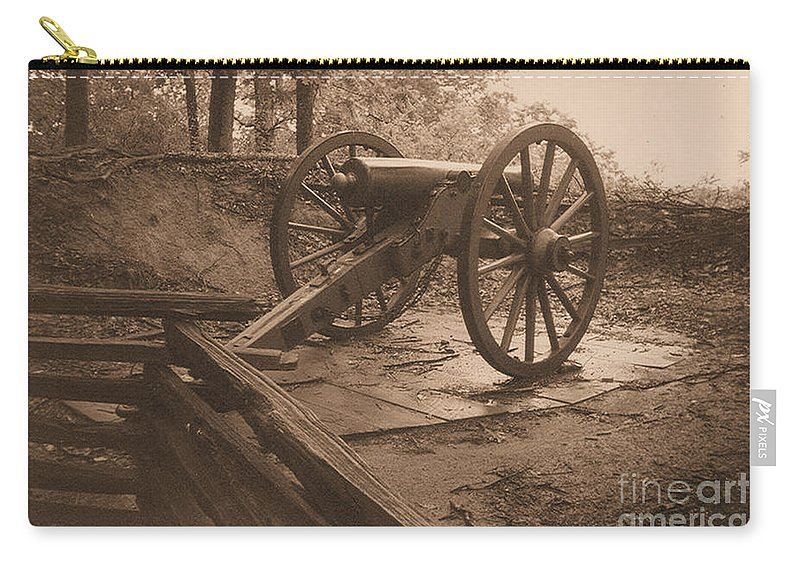 Kenshaw Mountain Carry-all Pouch featuring the photograph Defend The Mountain by Tommy Anderson